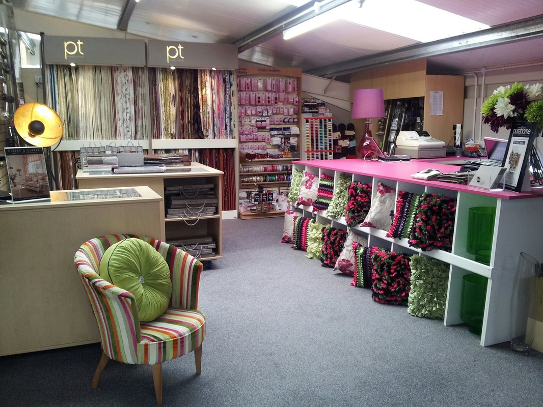 Gallery the fabric library enniskillen ltd for Curtain making service